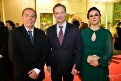 Ildefonso Rodrigues, Gustavo e Roberta Bortoli