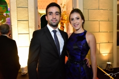 Igor Martins e Talita Ponte