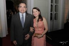 Jackson Cruz e Fátima Gonçalves