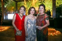 Lenise Queiroz Rocha, Renata Jereissati e Paula Frota