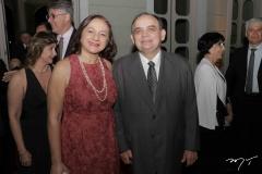 Lúcia Cidrão e Dimas Macedo