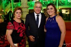 Lucila e Paulo César Norões e Simone Norões