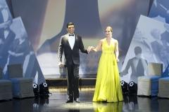 Luiz Esteves e Patrícia Nilsen
