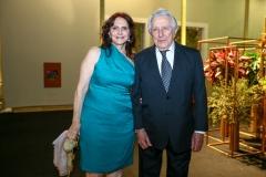 Márcia Barberio e Fernando de Mendonça