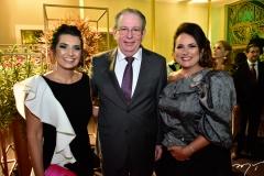 Márcia Travessoni, Ricardo e Rosângela Cavalcante