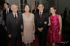 Manassés e Graça Fonteles, Gerson Fonteles e Ana Jucá