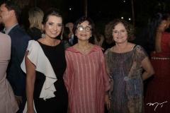 Márcia Travessoni, Dodora Guimarães e Valéria Laena