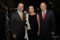 Márcio Crisóstomo, Márcia e Fernando Travessoni