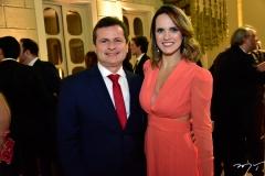 Marcos André Borges e Carla Matos