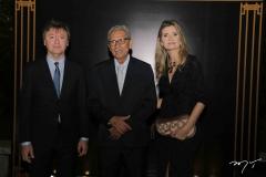 Maurício Filizola, Espedito Seleiro e Laura Paiva