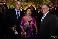 Máximo Fiuza, Júlia Philomeno e Alfredo Gurjão