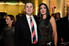 Paulo Régis e Patrícia Botelho