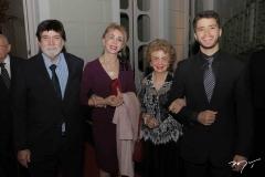 Raimundo Sérgio, Shirley Crispino, Marlinda Vânia e Valter Filho