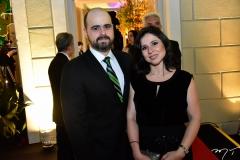 Régis Nogueira e Mariana Tomaz