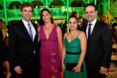 Ruy e Carol do Ceará e Fabrícia e Aélio Silveira