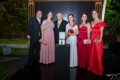 Tadeu, Laura, Sulivan, Sônia, Mariana e Joana Mota