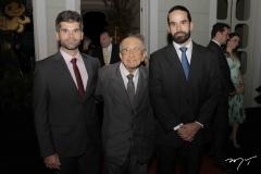 Tiago Mendonça, João Mendonça e Felipe Mendonça