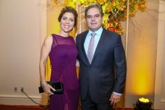 Ticiana Rolim e Edson Queiroz Neto
