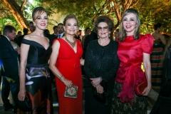 Karísia Pontes, Lenise Queiroz Rocha, Nilda Andrade e Venúsia Ribeiro
