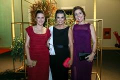 Viviane Rocha, Márcia Travessoni e Ticiana Rolim Queiroz