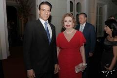 Wilson Loureiro e Angélica Pinto