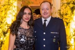 Adriana Casarino e Tenente Coronel Casarino