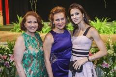Adriana Forte, Renata Jereissati e Carla Oliveira
