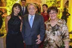 Adriane Hortêncio, Carlos Batista e Nair de Castro