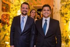 Adrísio e Eduardo Câmara