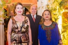 Angélica Pinto, Olívio Costa e Perpétua Pinto