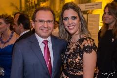 Carlos Matos e Luciana Perdigão