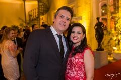 Carlos Uchôa e Livia Medeiros