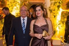 César Rossas e Elisabeth Fiúza Aragão