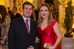 Cláudio e Suyane Dias Branco