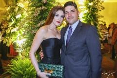 Denise e Rafael Carneiro