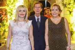Edina Noronha, Francisco Barbosa e Fátima Loureiro