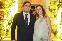 Edson Queiroz Neto e Ticiana Queiroz