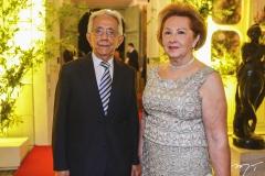 Elias Salomão e Elenita Pinheiro