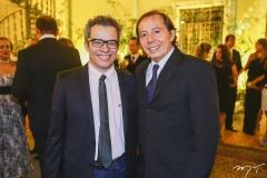 Fabiano Piúba e Ildefonso Rodrigues