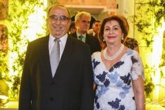Fernando Frota e Fátima Veras