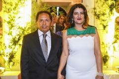Fernando Mesquita e Cláudia Carneiro
