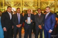 Herbert, Saulo, Teodoro, Sérgio e Mateus Santos
