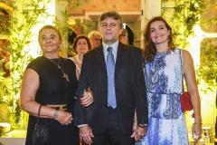 Ielda Felício, Fábio Sampaio e Yelu Felício