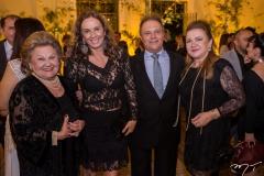 Ivone Queiroz, Cláudia Carvalho, José Carlos Pontes e Cláudia Rebouças