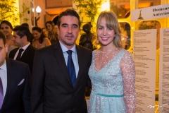José Maria e Renata Felismino