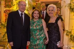 Lúcio Alcântara e Adriana Forte, com Lúcia Alcântara
