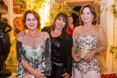 Lília Quinderé, Carmen Cinira e Lúcia Wolf