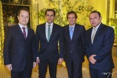 Lisandro Fujita, Etevaldo Nogueira, Aderaldo Silva e Max Bezerra