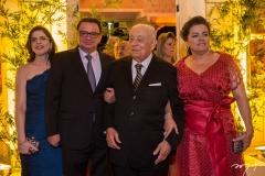 Márcia Barroso, Antônio Barroso, Adauto e Silvânia Bezerra