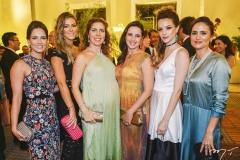 Marília Queiroz Machado, Bruna Waleska, Ticiana Queiroz, Viviane Rocha, Paula Sampaio e Manoela Bacelar